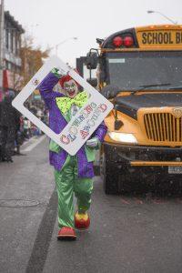 Ross as a Clown
