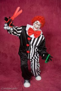 Ross as a Clown